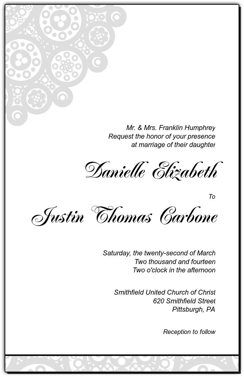 Modern Bold Geometric Rectangle Invitation Card5x7875 Wedding Stationery Kit Invitations